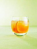Grand crush (drink made of Grand Marnier & orange juice)