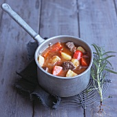 Goulash soup with potatoes