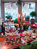 A Swedish Christmas buffet