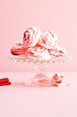 Marbled meringues