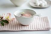 Sweet Japanese winter soup