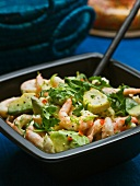 Prawn and avocado salad with chilli (Caribbean)