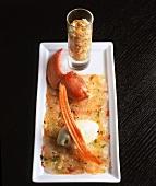 Lobster carpaccio