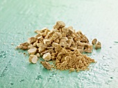 Ginseng: dried and powdered