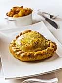 Lamb pasty with mint (England)