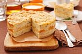 Potato cheese cake
