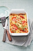 Polenta and vegetable bake