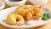 Prawn tempura