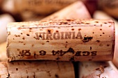 Wine corks (White Hall Vineyards, Crozet, Virginia, USA)