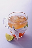 Lime ice tea
