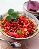 Large summer berry salad