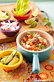 Posole (Mexican pork and vegetable stew)