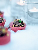 Colourful Christmas confectionery