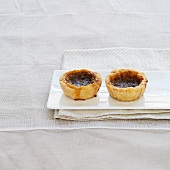 Two butter tarts