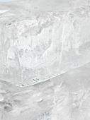 Block of ice (close up)