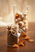 Cinnamon sugar for gift-giving