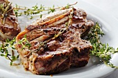 Bone-In Lamb Chop with Oregano