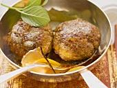 Indian lamb burgers