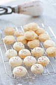 Aniseed biscuits with silver balls