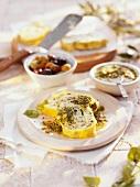 Rotolo ricotta e spinaci (Roulade mit Ricotta-Spinat-Füllung)