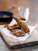 Breadcrumbed lamb chops