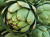 Close Up of Artichoke at Saturday morning Market, Geneva, Switzerland