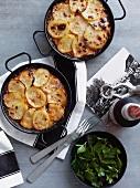Cod and potato casserole
