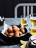 Red snapper and pepper croquettes