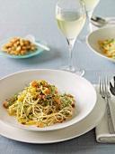 Spaghettini con la bottarga (Nudeln mit Fischrogen & Fenchel)