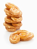 A stack of palmiers