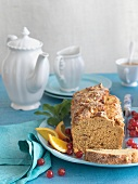 Gluten Free Walnut Banana Bread with Tea Service