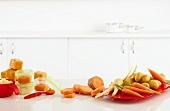 Gemüsepüree (Babykost) zum Einfrieren vorbereiten