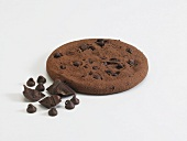 Ein Chocolate Chip Fudge Cookie