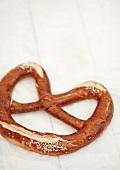 A soft pretzel