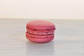 A raspberry macroon