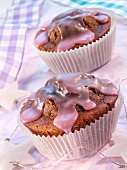 Mulled wine muffins for Christmas
