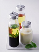 Various salad dressings