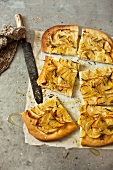 Pizza di patate al rosmarino (potato pizza with rosemary)