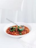 Pappa al pomodoro (Tuscan tomato soup)