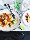 Hiramasa kingfish ceviche