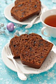 Chocolate-honey cake with ginger (for Christmas)