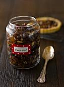 A jar of mincemeat