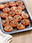 Baked tomatoes with thyme