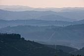 View from La Morra at Castiglione Falletto (Piedmont)