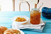 Marmalade and croissants