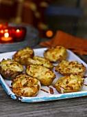 Ofenkartoffeln, mit Käse überbacken