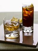 Whiskey and a Cuba Libre