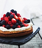Scandinavian berry cake
