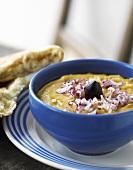 Hummus (chickpea dip)