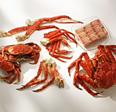 Variety of Crab